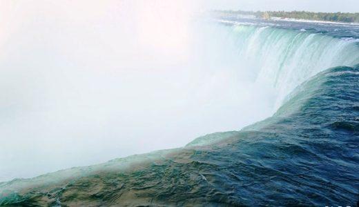 大迫力のナイアガラの滝を間近で見る3つの方法!遊覧船や、滝を裏側からも見てきました!【カナダ旅行記】